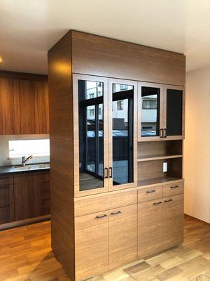 食器棚 キッチン収納 間仕切り家具