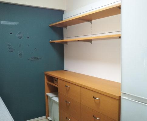 キッチン収納棚 飾棚 カップボード オーダー家具