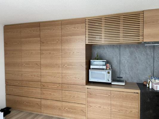 オーダー家具 キッチン収納