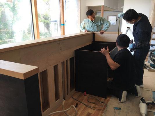 家具の設置 家具の取り付け