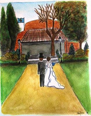 La boda de Cristina y Cesar en Puerta de Hierro