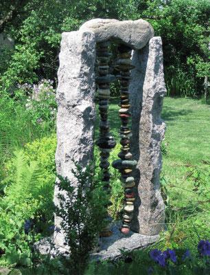 das Brunnentor im Garten