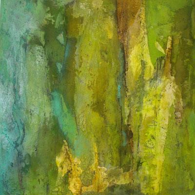 Marmormehl - Tuschen - Pigmente 70 x 70 cm