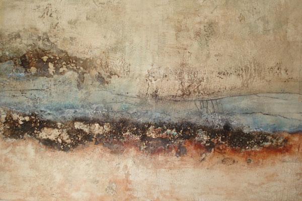 Marmormehl - Sumpfkalk - Pigmente - Wachs 100 x 70 cm