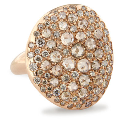 750er Roségold Brillant Ring by Brusi