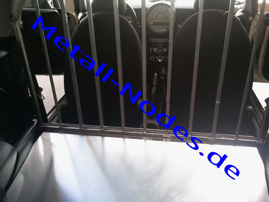 PKW Hundebox. Spezialanfertigung Mini Cooper