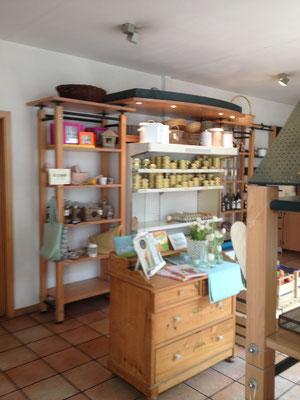 Der schnuckelige Hofladen vom Café Grünewald. (©odenwaldlust.de)