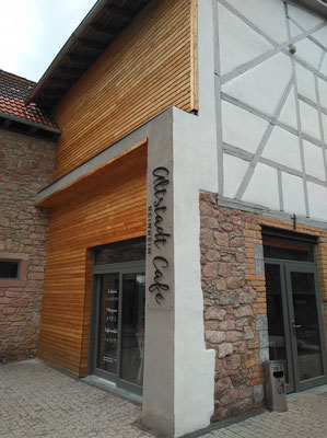 Das Altstadtcafé liegt etwas versteckt in der Kirchstraße 50 in Reinheim (©odenwaldlust).