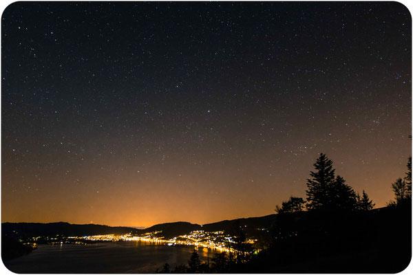 Sternenhimmel Aegerisee (ZG)