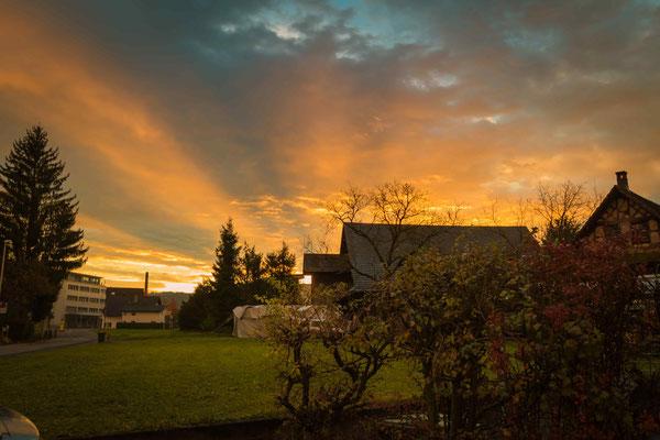 Sonnenaufgang Baar 2