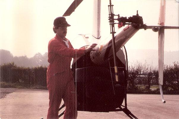 Maschinen-Check vor dem Abflug