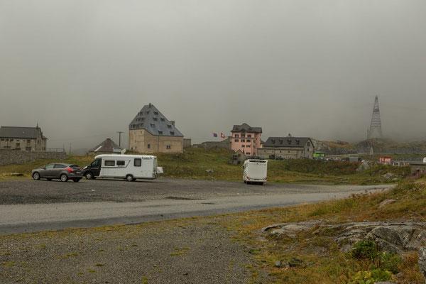 die letze Nacht auf dem Gotthardpass