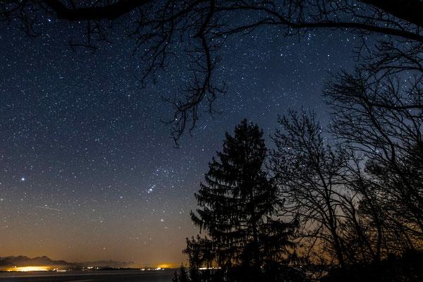 Sternenhimmel Chiemsee 1