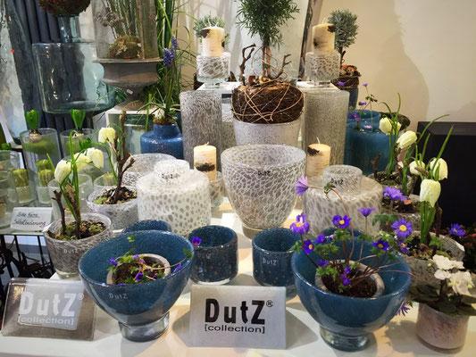 DutZ Vasen für Pflanzen_blau