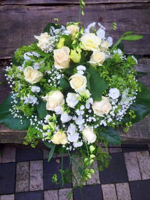 Hochzeitsfloristik - Brautstrauß grün