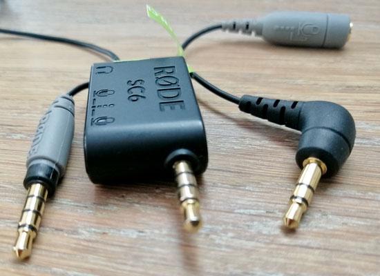 Wann braucht es einen TRS oder TRRS-Adapter?