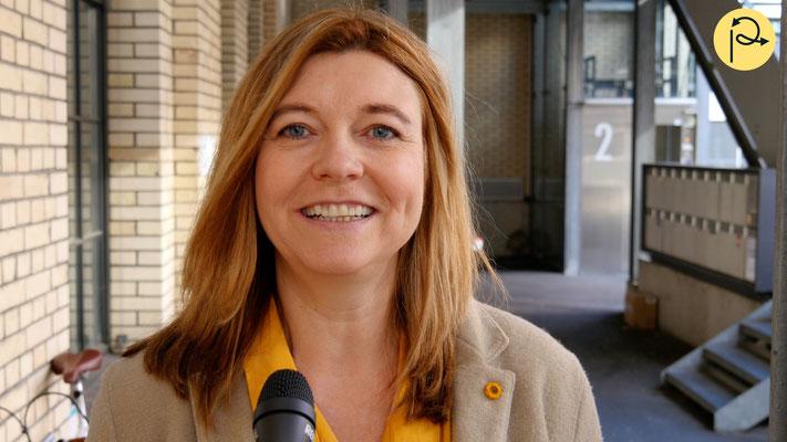 Anja Buis, Hauptabteilungsleiterin Sozialen Dienste Winterthur sprach in einem kurzen Interview über das innovative Projekt.