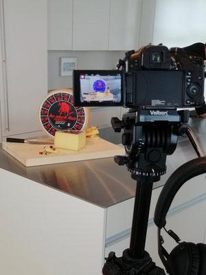 Kochvideo-Produktion für die Qualitätskäserei Studer bekannt für den Käse 'Der scharfe Maxx'