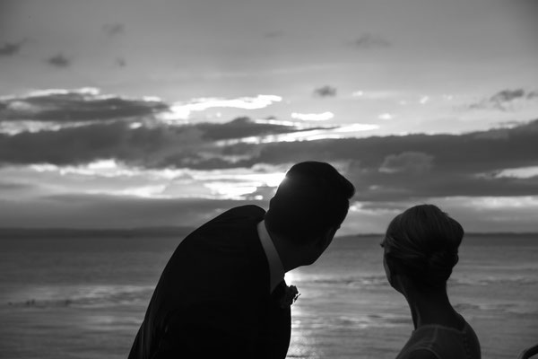 Romantisches Hochzeitsfoto am Bodensee