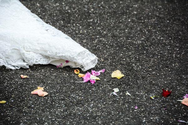 Brautkleid, Hochzeitsfoto