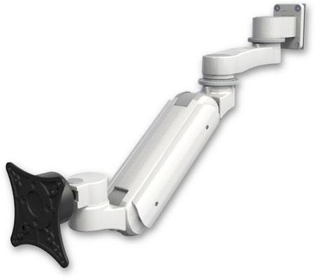 医療向け ウォールチャネルマウント 昇降式 モニターアーム ( 6インチ(約15.2cm)延長アーム付) :ASUL180IBV-W5-AS1