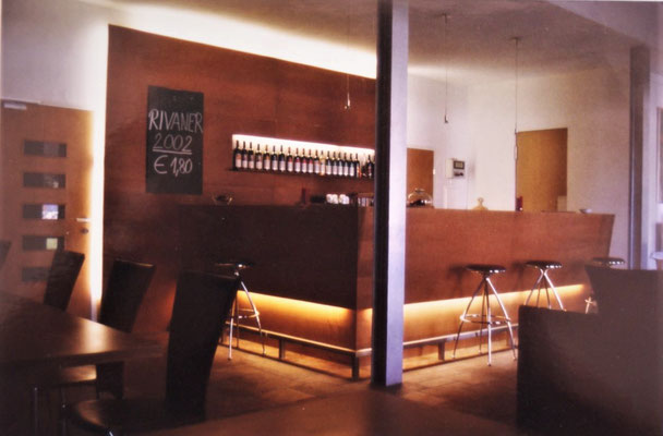 Innenraum Weinbar, Kategorie: Neubau