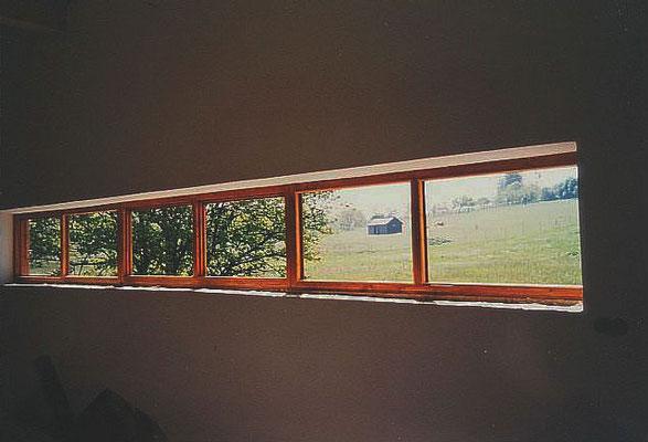 Fensterband zu den Feldern, Atelier, Kategorie: Neubau