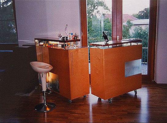 Mobile Bar, Kategorie: Möbel Entwurf