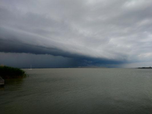 Regenwolken 2, Neusiedler See 2019
