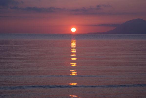 Sonnenuntergang, Griechenland, 2018