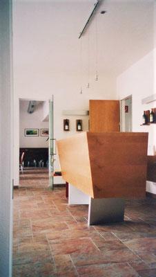 Detail Verkaufspult, Kategorie: Möbel Entwurf