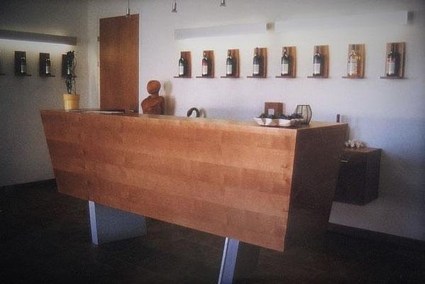 Verkaufsraum Weinbau Betrieb, Kategorie: Möbel Entwurf