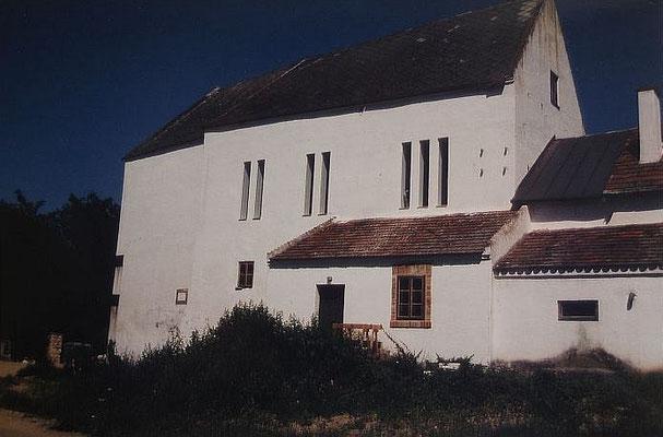 Ansicht Maler Atelier - Fenster Schlitze, Kategorie: Umbau