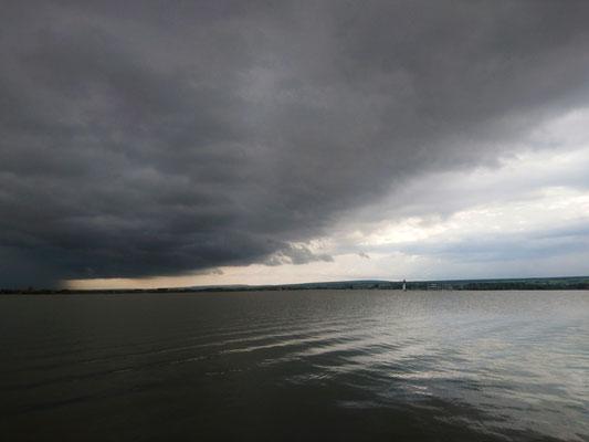 Regenwolken 4, Neusiedler See 2019