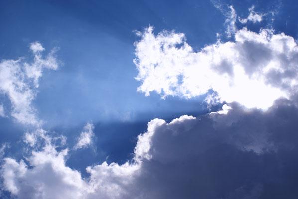 Wolken im Licht 10