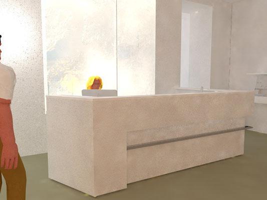 Entwurf Wartebereich Arzt, Kategorie: Möbel Entwurf