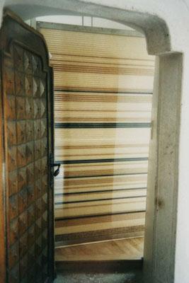 Blick auf Stegplatte mit Reis gefüllt, Kategorie: Umbau