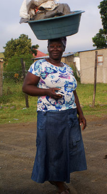 Frau, Südafrika, 2017
