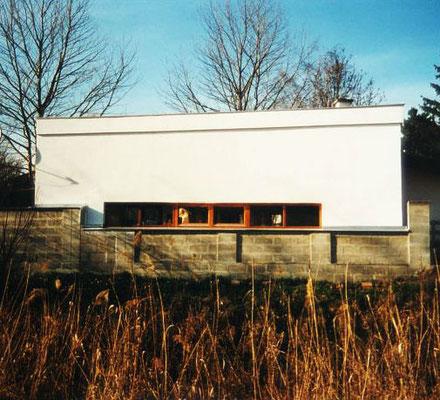 """Ansicht Bildhauer Atelier """"hintaus"""", Kategorie: Neubau"""