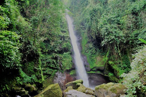 Mongioni Wasserfall in Shimbwe am Kilimanjaro