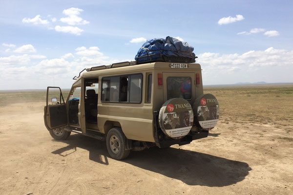 Safari mit Land Cruiser Twanga Touring
