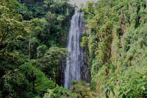 Materuni Wasserfall am Kilimanjaro