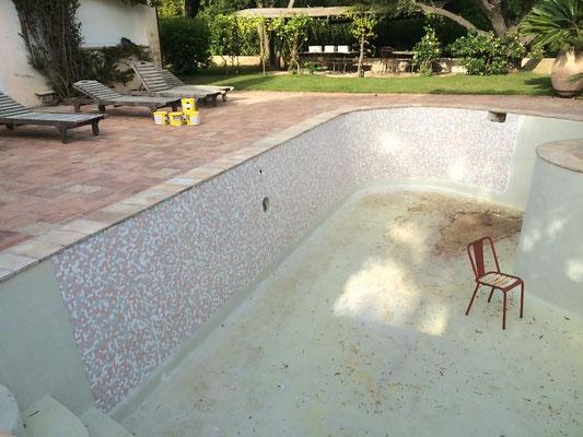 Rénovation piscine existante