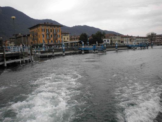 Fahrt zur Insel Monte Isola