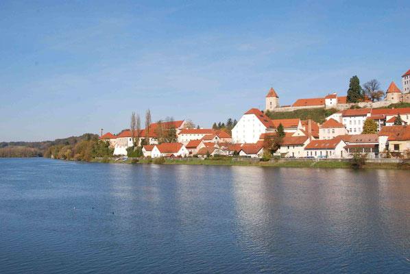 Das Drau-Ufer bei Ptuj