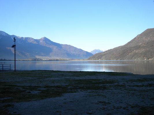 Lago d Mezzola Stellplatz