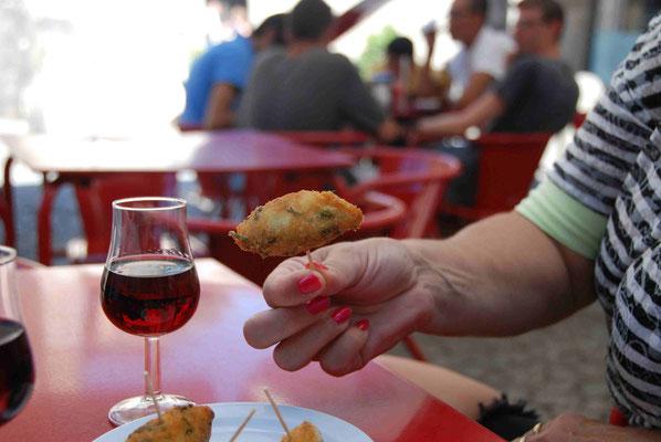 Portwein und Bacalhau