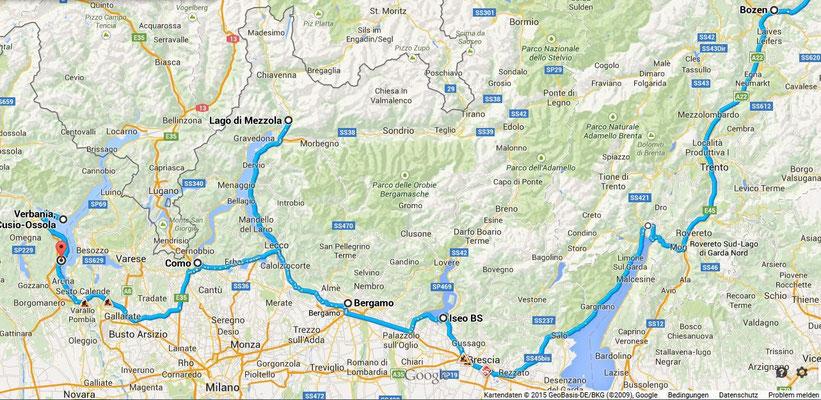 Gardasee, Comerserr, Lago d Mezzola