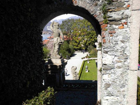 Der prunkvolle Palastgarten