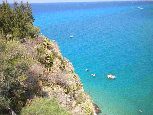 Küste bei Tropea